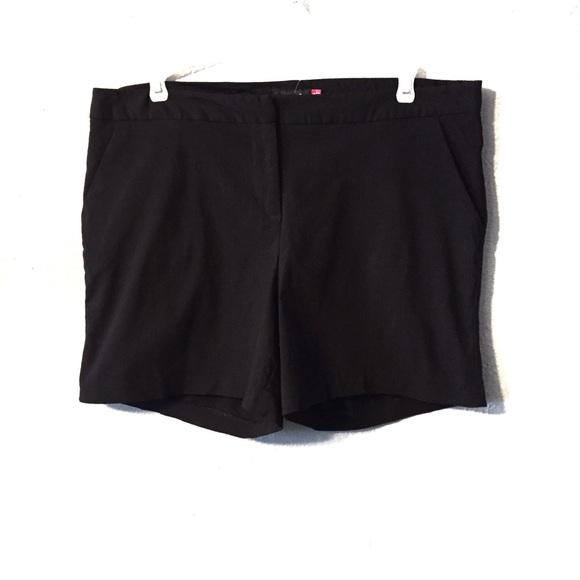 torrid Pants - Torrid Black Shorts With Pockets Size 16